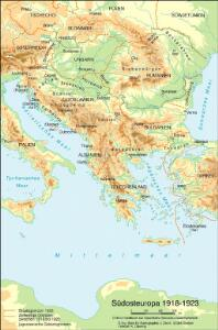 Südosteuropa 1918-1923