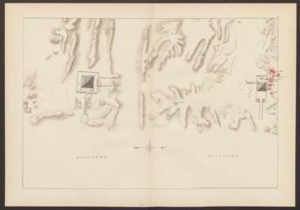 Carte de la nécropole memphite