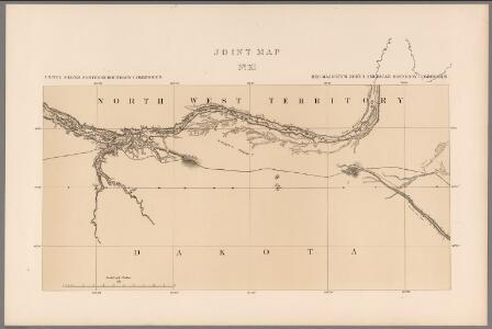 Joint Map No. XI.  United States Northern Boundary Commission.  (Canadian Border).