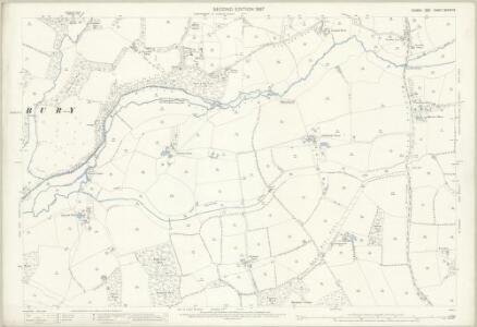 Sussex XXXVIII.6 (includes: Henfield; Shermanbury) - 25 Inch Map