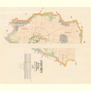 Jakubin - c2736-1-001 - Kaiserpflichtexemplar der Landkarten des stabilen Katasters
