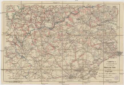 Mittelbach's Strassenprofilkarte des Gebietes der böhmischer Bäder und des Erzgebirges für Rad- und Motorfahrer