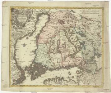 Magni ducatus Finlandiae Russiae partim, partim Sueciae subjecti, sinus item Bothnici ac Finnici nova et accurata delineatio