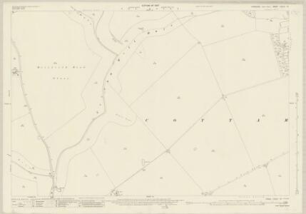 Yorkshire CXLIV.10 (includes: Cottam; Sledmere) - 25 Inch Map