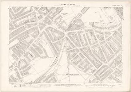 London X.28 - OS London Town Plan