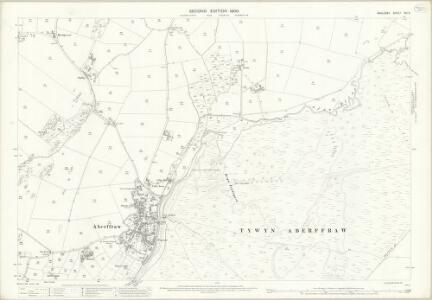 Anglesey XXI.3 (includes: Aberffro; Llangadwaladr) - 25 Inch Map