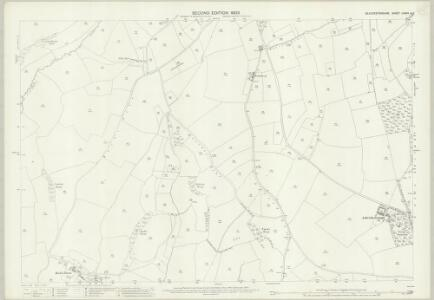 Gloucestershire LXXVII.4 (includes: Cold Ashton; Marshfield) - 25 Inch Map