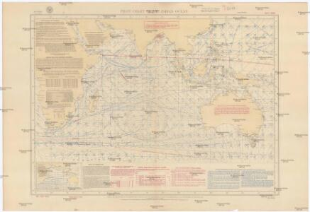 Pilot chart of the Indian Ocean