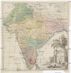 Charte von Ost Indien