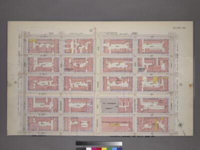 Plate 22, Part of Section 3: [Bounded by (E. 37th Street, Third Avenue, E. 32nd Street and Fifth Avenue.]