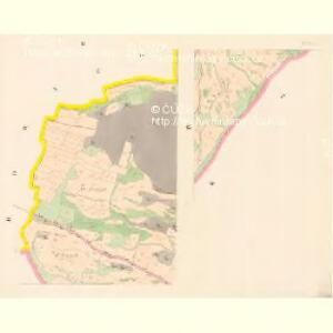 Hoschtitz (Hosstitz) - c7453-1-002 - Kaiserpflichtexemplar der Landkarten des stabilen Katasters