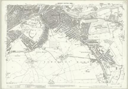 Somerset VI.7 (includes: Bristol) - 25 Inch Map
