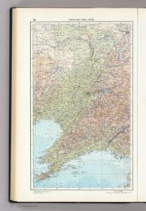 116.  North-East China South.  The World Atlas.