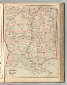 Louisiana and Mississippi.