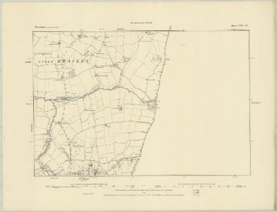 Warwickshire LVII.SE - OS Six-Inch Map