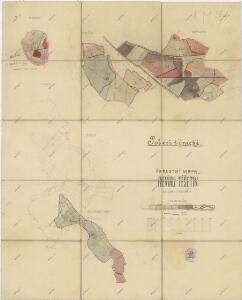 Porostní mapa revíru Těšetiny