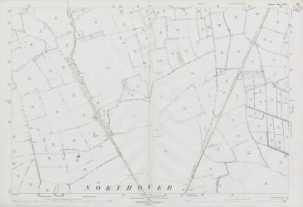Somerset LXXIII.12 (includes: Charlton Mackrell; Ilchester; Kingsdon; Yeovilton) - 25 Inch Map