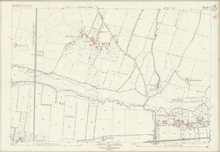 Gloucestershire XII.7 (includes: Ashchurch; Bredon; Kemerton) - 25 Inch Map