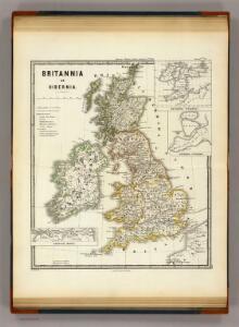 Britannia et Hibernia.