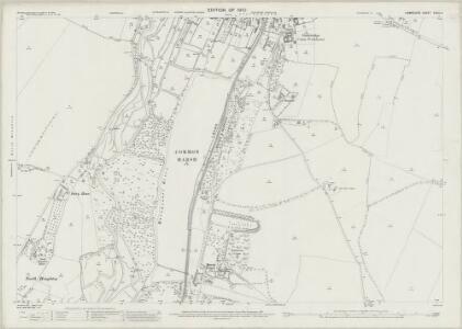 Hampshire and Isle of Wight XXXIX.4 (includes: Houghton; Kings Somborne; Longstock; Stockbridge) - 25 Inch Map