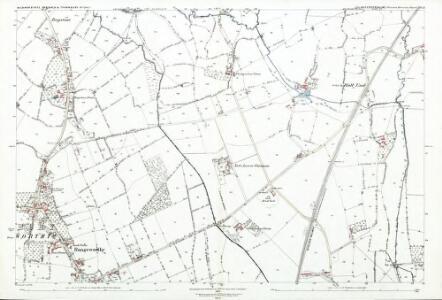 Gloucestershire LXIV.13 (includes: Rangeworthy; Wickwar; Yate) - 25 Inch Map