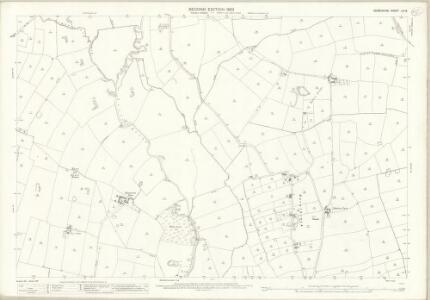 Derbyshire LIII.8 (includes: Ash; Church Broughton; Hatton; Hilton; Hoon; Marston on Dove; Sutton on the Hill) - 25 Inch Map