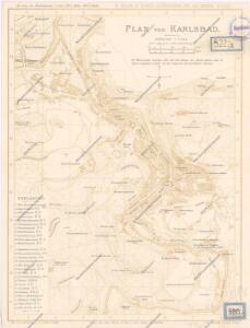 Plan von Karlsbad