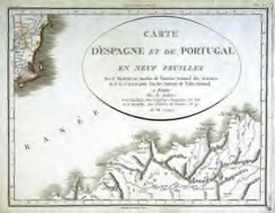 [Carte d'Espagne et de Portugal en neuf feuilles, 9]