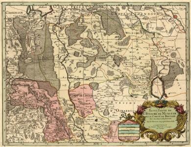 Basse Partie de l'Evesché de Munster, et le Comté de Benthem