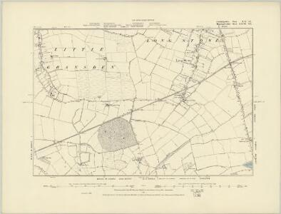Cambridgeshire XLV.SW - OS Six-Inch Map
