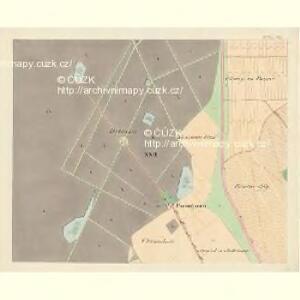 Göding (Hodonin) - m0741-1-020 - Kaiserpflichtexemplar der Landkarten des stabilen Katasters
