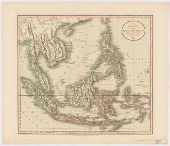 A new map of the East India Isles from the latest authorities