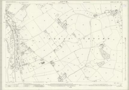 Suffolk LXXIX.4 (includes: Great Cornard; Little Cornard; Middleton; Sudbury) - 25 Inch Map
