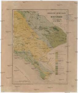 Geologische Übersichtskarte von Montenegro