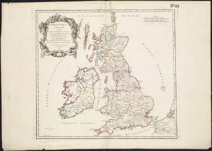 Britannicae Insulae in quibus Albion seu Britannia Major, et Ivernia seu Britannia Minor ...