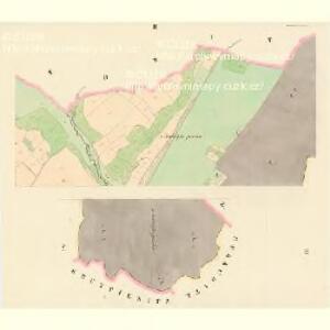 Kolinetz (Kolinec) - c3284-1-002 - Kaiserpflichtexemplar der Landkarten des stabilen Katasters