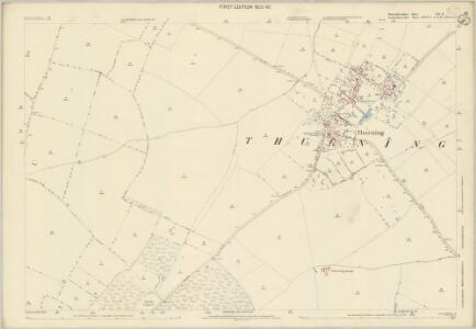 Huntingdonshire XII.3 (includes: Barnwell; Luddington; Thurning) - 25 Inch Map