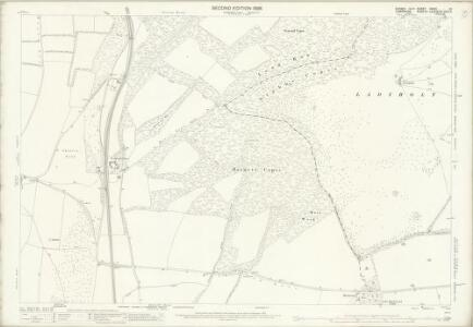 Sussex XXXIII.10 (includes: Buriton; Clanfield; Harting; Rowlands Castle) - 25 Inch Map