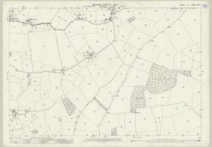 Suffolk LXXI.1 (includes: Hundon; Kedington; Stoke by Clare) - 25 Inch Map