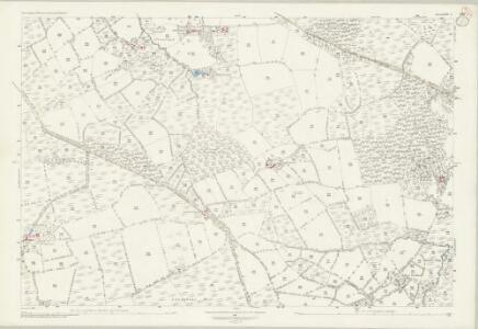 Devon LXIV.3 (includes: Hatherleigh; Jacobstowe) - 25 Inch Map