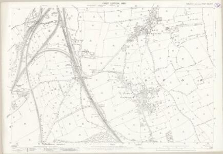 Yorkshire CCLXXV.1 (includes: Barnsley; Cudworth; Shafton) - 25 Inch Map