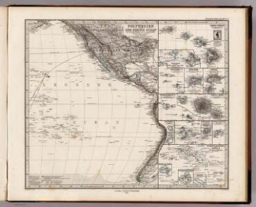 Polynesien Und Der Grosse Ocean (Ostliches Blatt).