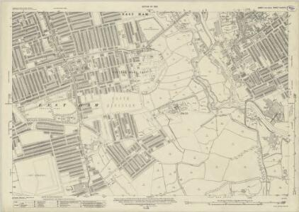 Essex (New Series 1913-) n LXXXVI.7 (includes: Barking; East Ham) - 25 Inch Map