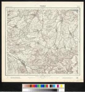 Meßtischblatt [7323] : Weilheim an der Teck, 1905