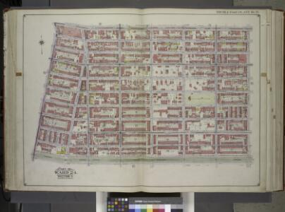 Brooklyn, Vol. 1, Double Page Plate No. 17; Part of Ward 24, Section 5; [Map bounded by Atlantic Ave., Albany Ave., Eastern Parkway, Franklin Ave.] / by and under the direction of Hugo Ullitz.