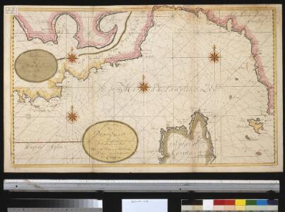Afteekening van Provence en Italien tussen de C. Toulon en de Hoek van Piombino als ook de Noordkust van Corcia