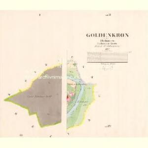 Goldenkron - c9272-1-001 - Kaiserpflichtexemplar der Landkarten des stabilen Katasters
