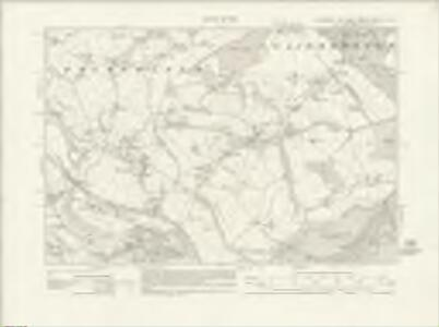 Yorkshire CCLXXXII.NW - OS Six-Inch Map