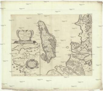 Carte de la coste de la Rochelle a Brouaige et de l'Isle d'Oleron