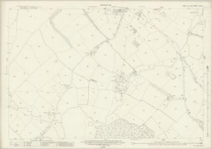Essex (New Series 1913-) n LXI.12 (includes: High Ongar; Kelvedon Hatch; Stanford Rivers) - 25 Inch Map